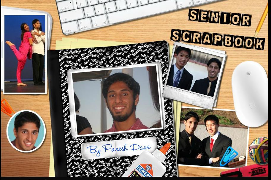 senior scrapbook